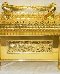 Ark of the Covenant in gold tinted Cosmichrome