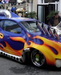 The car used in the movie Son of the Mask