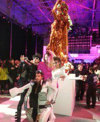 Lady Gaga Statue at the Art Pop Party