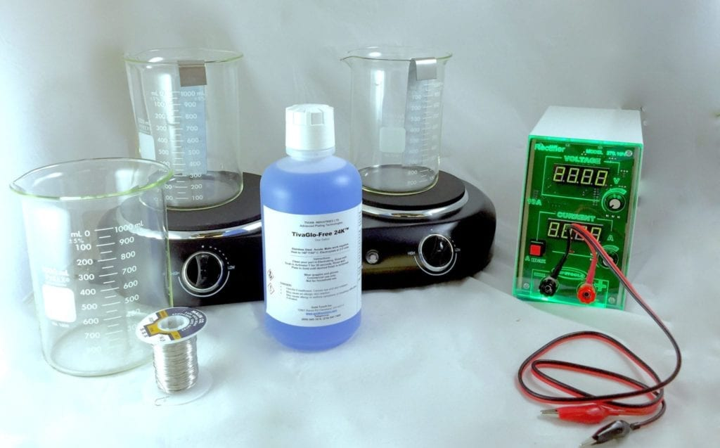 1 liter desktop jewelry plating system