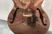 Absolut Vodka Copper Guitar