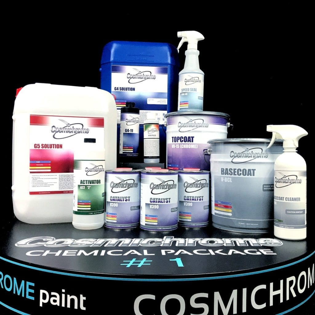 Gold Touch Inc Spray Chrome Chemicals-Cosmichrome