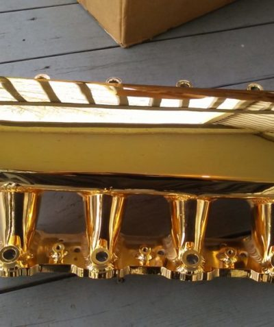 Air Intake in 24k Gold
