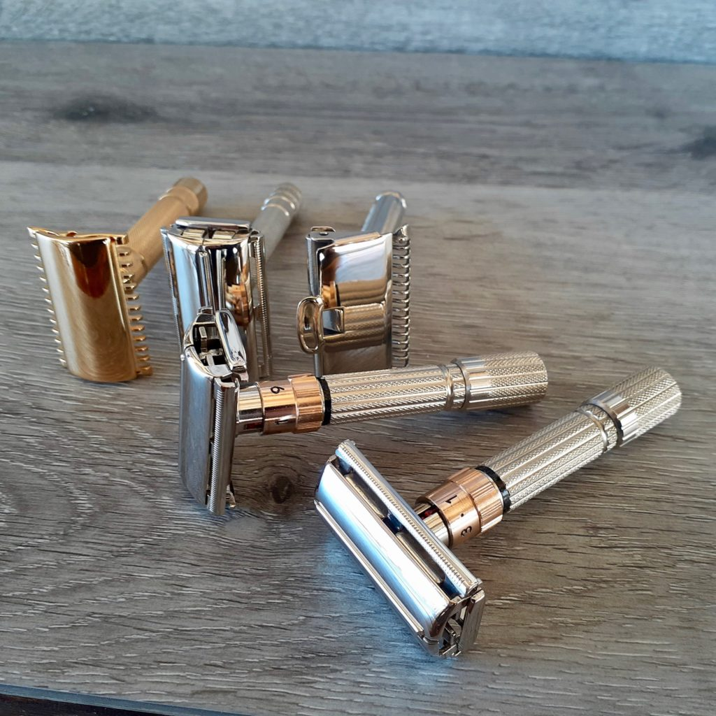 Rose Gold Razors by Back Roads Gold